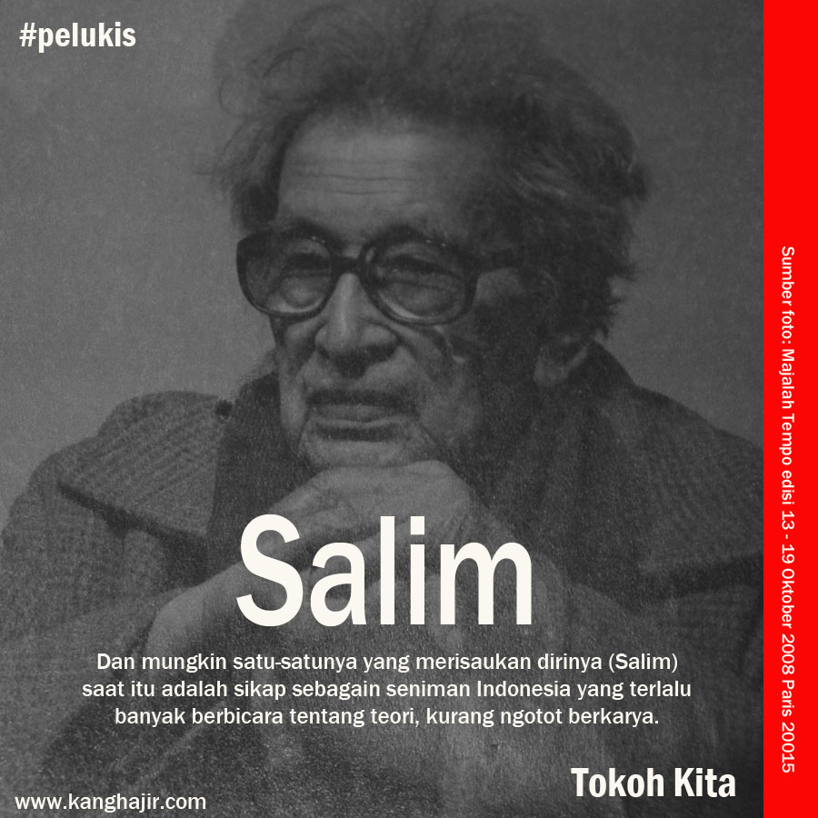 Salim Pelukis Indonesia di Paris